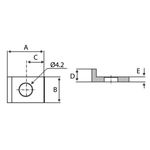 Gear Rack Rail Fixing Kit