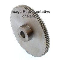 Steel Spur Gear Mod 0.8 30T, With Hub