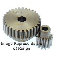 Steel Spur Gear Mod 8 30T, With Hub
