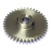 MOD 1 40 Tooth Tbot Steel Model Gear
