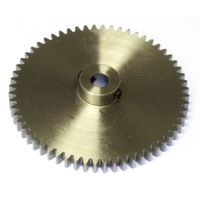 MOD 1 60 Tooth Tbot Steel Model Gear