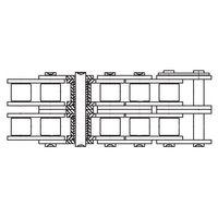 Duplex Roller Chain 06B-2 3/8 In / m