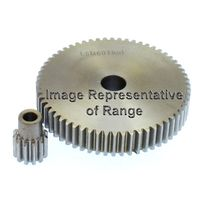 Tbot Steel Spur Gear MOD 1.5 40 Tooth