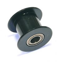 GT2 20 Tooth Idler Smooth Pulley 5mm Bearings for 10mm Belts