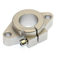 Shaft Support Mount SHF16 for Linear Guide Rails - 16mm
