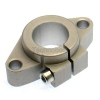 Shaft Support Mount SHF20 for Linear Guide Rails - 20mm